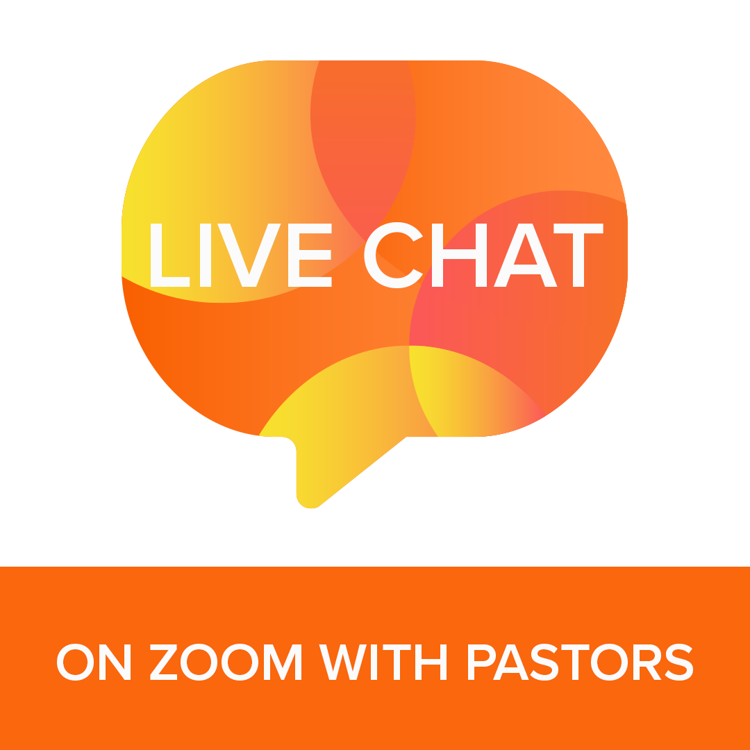 Image of Live Chat Icon for Zoom with Pastors