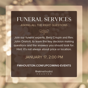 Funeral Service Event